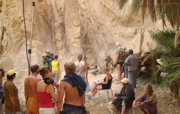 Filmploeg Sahara